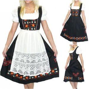 Sz 2 XS Dirndl Trachten German Dress Oktoberfest Waitress Holiday Hostess Party