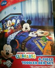 Disney Mickey Mouse 4 Piece Toddler Bedding Set - Flight Academy