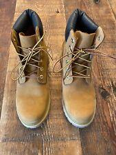TIMBERLAND Women's Size 10M Premium Boots - Wheat Nubuck - Worn Briefly!