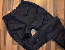 Berghaus Deluge Waterproof Overtrouser Black AQ2 Pants Hiking Size S Breathable