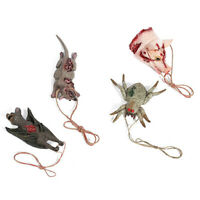 Halloween Pendant Decoration Haunted House Simulation Bat Mouse Animal S