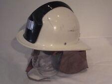 Original casco de bombero puesto praga-república checa reciban bien rar