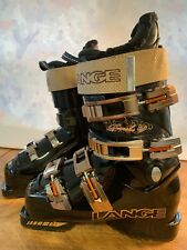 Lange Banshee Womans 4.5 Black Gold Ski Boots 37.5 Made In Italy