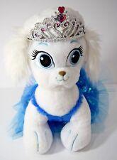 "Build A Bear Disney Princess Palace Pet Puppy Dog Plush 13"" Crown Stuffed Animal"