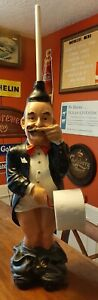 Toilet Paper Butler - Mr. Stinky - Pants Down Dispenser - 3 1/2 feet tall
