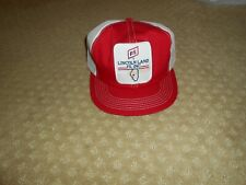 Vintage FS Illinois SnapBack Trucker Hat Cap Patch K PRODUCTS Made USA