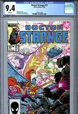 Doctor Strange #73 (1985) Marvel CGC 9.4 White Pages
