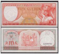 Surinam / Suriname P 121 10 gulden 1963 UNC