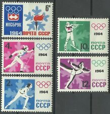 Russie Russia Jeux olympiques d'hiver Innsbruck Olympics Games Olympische **1964