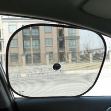 2 car side window black mesh sun shade visor anti-uv cover shield for baby kid X