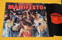 ROXY MUSIC LP MANIFESTO 1°ST ORIG ITLAY 1979 EX+ TOP AUDIOFILI