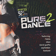 ENERGY 92.7 PRESENTS PURE DANCE 2 CD BY VARIOUS ARTISTS BRAND NEW SEALED