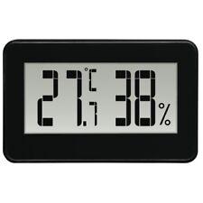 Hama Thermo/Higrómetro Temperatura Humedad del Aire en Negro #136297 (Reino Unido stock)