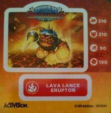 Lava Lance Eruptor Skylanders Superchargers Sticker Only!