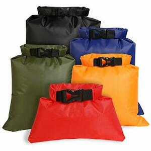 Waterproof Dry Bag Set Lightweight Drybag Canoe Bags with 1.5L 2.5L Large Small