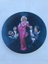 Marilyn Monroe Collector's Plate Diamonds Are A Girl's Best Friend Delphi Coa