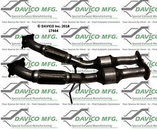 Catalytic Converter-Exact-Fit Rear Davico Exc CA 17444