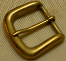 MESSING Gürtelschnalle MASSIV Premium NEU f. 3cm GÜRTEL Solid Brass GESTEMPELT #