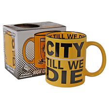 Hull City Till We Die Tigers Coffee Tea Cup - KITCHEN HOME OFFICE NIB