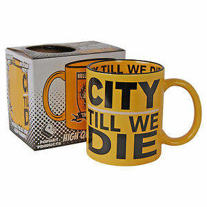 Hull City Till We Die Tigers Coffee Tea Cup - KITCHEN HOME OFFICE him her