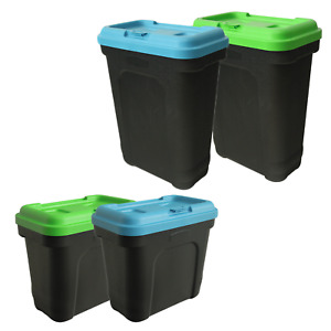 KCT AIRTIGHT PET FOOD CONTAINER STORAGE BIN BOX CAT DOG BUSCUIT DRY FOOD 15L 30L