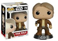 Star Wars:The Force Awakens Han Solo Funko Pop Action Figure Brand New