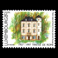 Luxembourg 1997 - Anniversaries Architecture Art - Sc 958/9 MNH