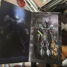 NECA TMNT II SUPER SHREDDER 7? Figure Walmart Exclusive Shadow Master New Sealed