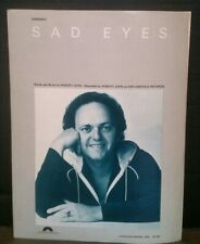 Sad Eyes Sheet Music Robert John Guitar Piano Voice Yacht Rock Love Songs F1Ac