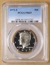 1972 S Proof Kennedy Half Dollar PCGS PR69