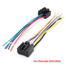 2Pcs Car Radio Stereo Speaker Wiring Harness Plug Cable For Chevrolet 2005-2016