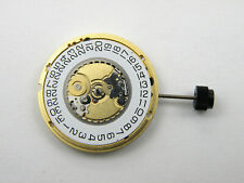 ETA 955.412 / ETA 955.414 Swiss Quartz Watch Movement MZETA955.412 Date @ 3 Gold