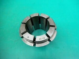 """ENGINEERS CRAWFORD MULTIBORE COLLET T285 E18   2-1/8""""- 2-1/4""""   53.97-57.15MM"""