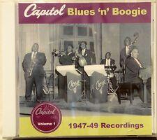 CAPITOL BLUES 'N' BOOGIE 1947-49 Recordings - Vol#1 - 24 VA Tracks