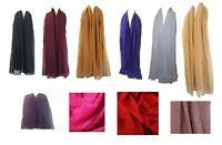 Glitter Scarf Shawl Stole CoverUp Pashmina Style Ladies Womens Viscose Wrap