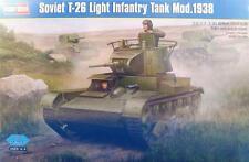 SOVIET T-26 LIGHT INFANTRY TANK MOD.1938 HOBBY BOSS 1/35 PLASTIC KIT