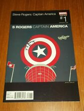 CAPTAIN AMERICA STEVE ROGERS #1 MARVEL COMICS HIP HOP VARIANT NM (9.4)