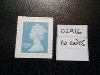 GB 2009++ Security Machin~£5~SG U2916~no codes~S/A~Unmounted Mint~UK