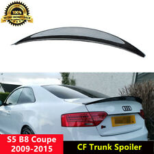 S5 Trunk Spoiler Carbon Fiber Wings for Audi B8/B8.5 S5 Coupe 2009-2015 HK Style