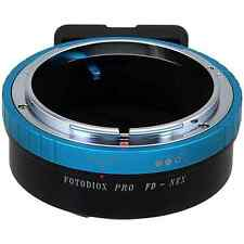 Fotodiox Pro Lens Mount Adapter, Canon FD (New FD, FL) Lens to Sony Alpha, E-Mou