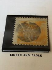 U.S. Stamp 1869 Ten Cents Shield And Eagle Scott# 116 Sleeve Protected