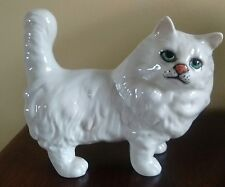 "BESWICK STANDING WHITE PERSIAN CAT No 1898 made 1963-89 5.1/2"" tall   mint order"