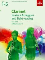 Clarinet Scales & Arpeggios and Sight-Reading, ABRSM Grades 1-5... 978184849