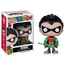 Funko POP! TV #107 Teen Titans Go! ROBIN Vinyl Figure RARE CC