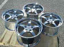 Chrome C5 Deep Dish Style Corvette wheels FITS: 1988-1996 C4 CORVETTE