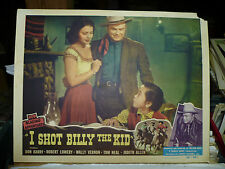 """I SHOT BILLY THE KID, orig 1950 LC #7 (Don """"Red"""" Barry, Judith Allen)"""