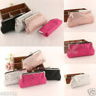 New Fashion Women Lovely Style Lady Wallet Hasp Sequins Purse Clutch Bag Handbag