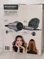 Silver Crest Hair Dryer 2200W Made in Germany Ion System Accessories New Sealed