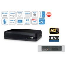 METRONIC 441627 DECODER DIGITALE TERRESTRE TOP BOX DVB T2 HEVC