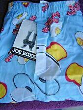 Vtg Mens USA NWT 1994 HTF Joe Boxer Shorts 36 38 Bacon Eggs Toast Lge Underwear
